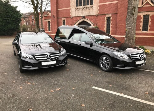 Alan J Bradley and Sons Funeral Services Cars